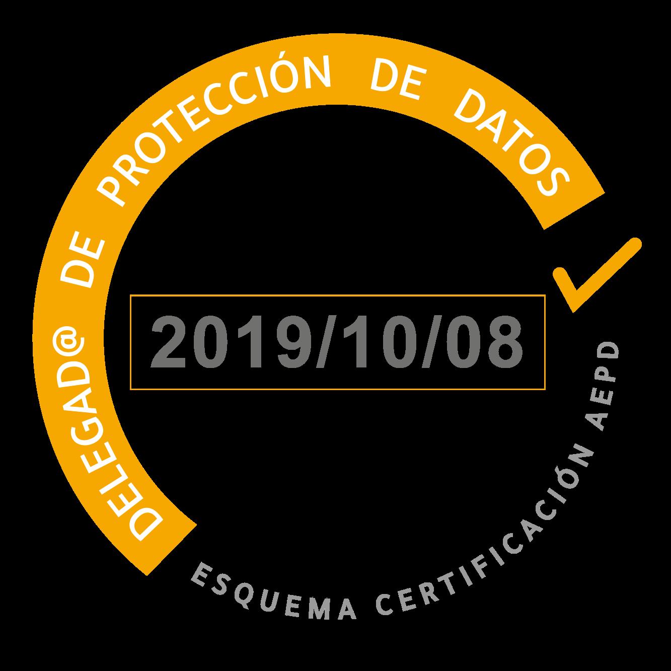 Logo Certificado DPD